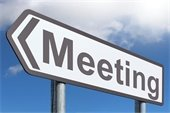 Meeting sign image