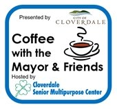 Coffee with the Mayor, hosted by Cloverdale Senior Center image