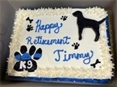 K-9 Officer Jimmy Cake Picture