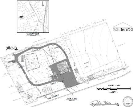 ADA Improvement at Second Street Plan Image