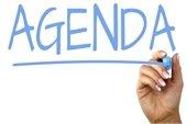 image of agenda wording