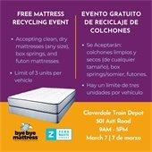Mattress Recycling Event