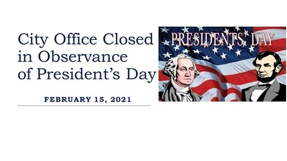 President's Day Holiday Image