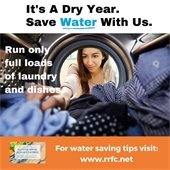 Save Water with Us Graphic