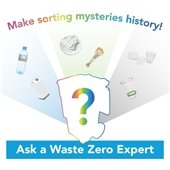 Ask a Waste Zero Expert virtual event image