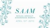 Sexual Assault Awareness Month April 2021 image