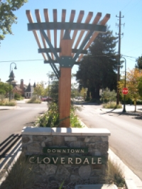 Downtown Cloverdale