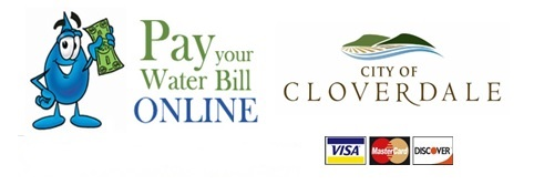 Pay your water bill online with the City of Cloverdale
