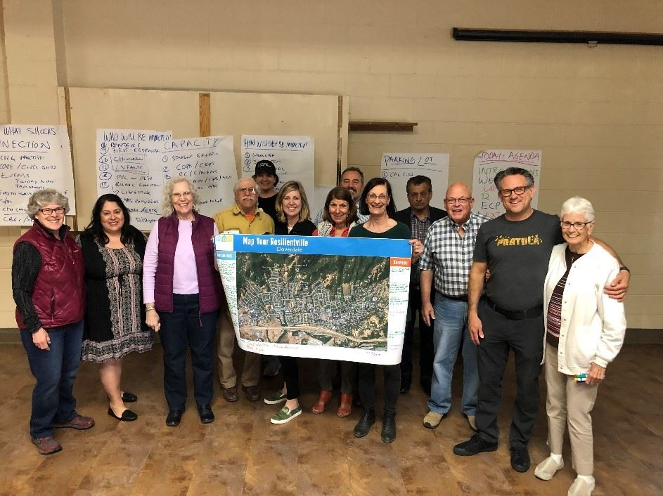Resilient Cloverdale Workshop Photograph