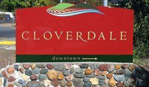 Cloverdale sign